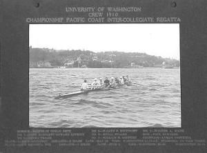 1910 Championship Pacific Coast Intercollegiate Regatta