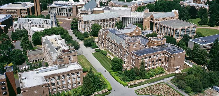 University of Washington Campus aerials